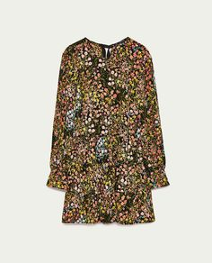 Image 8 of SHORT FLORAL JUMPSUIT from Zara