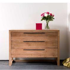 Ethnicraft Light frame teak chest of drawers | solid wood furniture