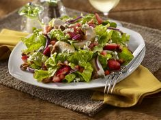 This Strawberry Chicken Salad Is the Perfect Summer Offering