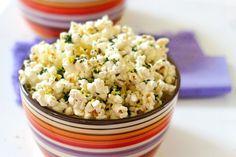 Lemony Kale Popcorn.