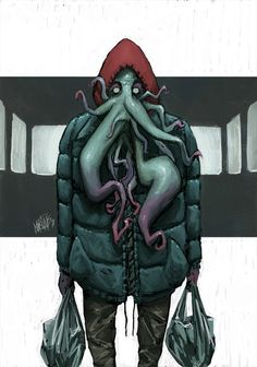 Tales of Cthulhu: Groceries by Christos-Martinis