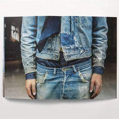 Raw Denim, Denim Jeans, Sexy Jeans, Gilet Jeans, Style Brut, Mode Jeans, Fashion Books, Vintage Denim, Vintage Leather