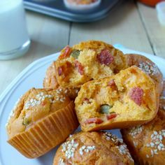 Pite i slani mafini Archives - Mystic Cakes Pizza Rolls, Rolls Recipe, Cake Recipes, French Toast, Recipies, Muffin, Appetizers, Mystic, Cooking
