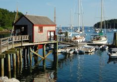 """Rockport, Maine  Photographer and host of PBS' Restorations Bob Krist says little Rockport, on Maine's mid-coast, """"has probably the most picturesque harbor you've ever seen."""" That harbor was also the summer home of Andre the seal, subject of a 1994 children's movie. The Samoset Hotel, built in the late 19th century, presides on the waterfront, and Rockport hosts a number of arts-focused institutions, including the Maine Media Workshops and the Rockport Opera House."""