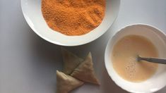 Cheesy, chicken, jalapeno samosas - a genius combination of Mexican and Indian fusion. Once you try this you'll never go back to any other type of samosa! Samosas, Egg Wash, Bread Crumbs, Pudding, Cheese, Chicken, Tableware, Desserts, Food