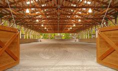 Beautiful indoor arena