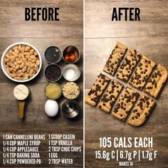 Here is a completely flourless dessert recipe for those of you that have restrictions. The recipe… Flourless Dessert Recipes, Healthy Dessert Recipes, Whole Food Recipes, Gluten Free Chocolate Chip Cookies, Chocolate Chip Cookie Bars, Chocolate Chocolate, Healthy Chocolate, Low Calorie Desserts, Low Calorie Recipes