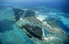 Eleuthera Island Bahamas | Aerial photo of North Eleuthera Island, Bahamas, BS Caribbean