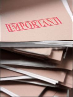 The Importance of Emergency Documents