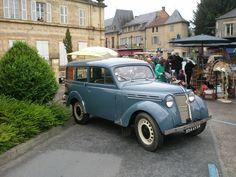 Tentoonstelling oude auto's - Montignac - mei 2009