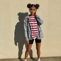 i took these right after my doctors appointment 😓🤧 gross Bad And Boujee Outfits, Short Outfits, Outfits For Teens, Cool Outfits, Summer Outfits, Casual Outfits, Fashion Killa, Teen Fashion, Fashion Outfits