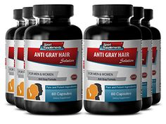 (Advertisement) Darkening Grey Hair - Anti-Gray Hair Solution 1500 - Saw Palmetto Hair Loss Growth Supplements, Supplements For Hair Loss, Supplements For Women, Eczema Remedies, Hair Remedies, Homeopathic Remedies, Natural Remedies, Reverse Hair Loss