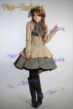 Stock products, such as non-stock can be shipped within 3 days (such as temporarily out of stock will inform the arrival time)  Small waist dovetail skirt, inner and outer layers , the latter with elastic waist.   Double-breasted, bronze chains and wood ear decoration. Detachable belt, can be...