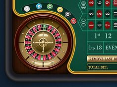 Roulette Table designed by Ying Chen. Table Roulette, Play Casino Games, Video Poker, Wheel Of Fortune, Game Ui, Slot Machine, Online Casino, Game Design, Post Apocalyptic