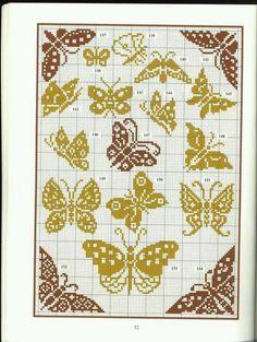 Free butterflies pattern