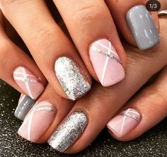 There are three kinds of fake nails which all come from the family of plastics. Acrylic nails are a liquid and powder mix. They are mixed in front of you and then they are brushed onto your nails and shaped. These nails are air dried. When creating dip. Spring Nail Art, Spring Nails, Summer Nails, Trendy Nails, Cute Nails, Pretty Gel Nails, Funky Nails, Pretty Nail Art, Hair And Nails