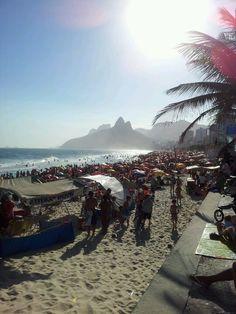 Ipanema Beach - we love Rio