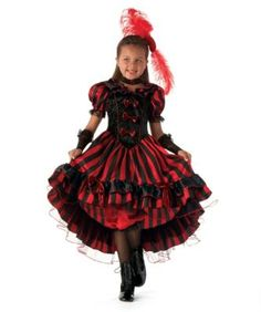 can can dancer girls costume - Can Can Dancer Halloween Costume