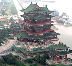 древняя китайская архитектура