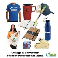 College & University Student Promotional Items
