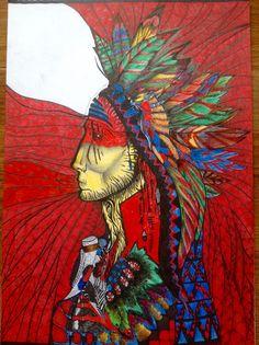The indian ....... Work by lana samkharadze