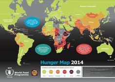 いま、飢えている国はここだ 2014飢餓マップ【画像】