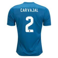 7433a2f65 2017 18 Dani Carvajal Jersey Number 2 Third Replica Men s Real Madrid  Soccer Real Madrid
