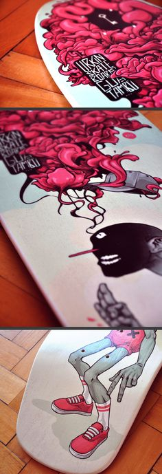 Urkin Skateboards / Guatambú by I . D . V ., via Behance