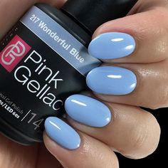 Pink Gellac Gel Nagellak Kleur 217 Wonderful Blue kopen? Pinkgellac.nl