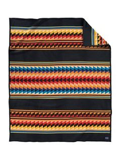 Pendleton Suwanee Stripe Blanket // This colorful blanket salutes the patchwork artistry of the Seminole Indian women. Southwestern Blankets, Southwest Quilts, Southwestern Home Decor, Pendleton Blankets, Native American Blanket, Seminole Patchwork, Spanish Home Decor, Indian Blankets