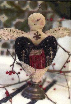 Prim Snowflake Cherub...