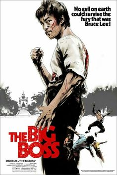 The Big Boss / Mondo exclusive poster Bruce Lee Poster, Bruce Lee Art, Bruce Lee Martial Arts, Bruce Lee Photos, Eminem, Martial Arts Movies, Martial Artists, Movie Poster Art, Film Posters