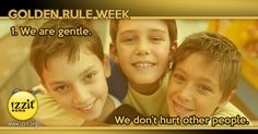 Golden Rule Week -  #people #teaching #learning #children #goldenrule #classroomdiscussion