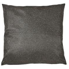 Carbone Coussin noir étincelant 43x43cm