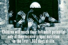 Good #nutrition from a young age is critical. Check out 12 other #facts about world #hunger