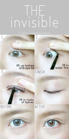 The invisible eyesliner