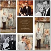 Cute save the date - would love to take pics at the Roswell Mill and it goes with our colors!