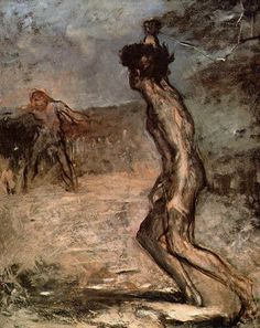 David and Goliath, Edgar Degas
