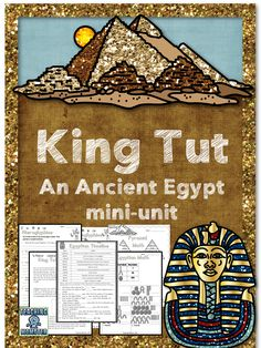 Students LOVE to learn about King Tut and Ancient Egypt! November 4 is King Tut day, so it is a PERFECT time to download this mini-unit and jump into King Tut's history!