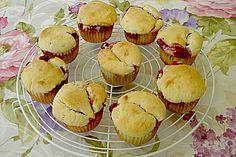 Quark-Himbeer Muffins