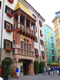 Das Goldene Dachl, Innsbruck, Austria