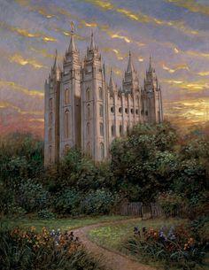 Salt Lake Temple Jon McNaughton