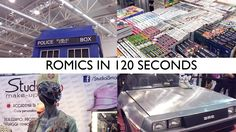 Comics, Anime, Manga and Games convention held in Rome twice a year #romics