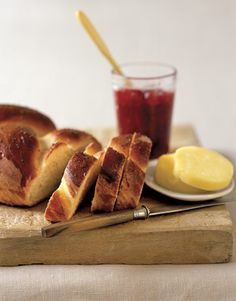 Let hungry kids munch on this sweet Challah bread after school. You can spread peanut butter on it, too! #recipes