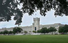 The Citadel military academy in South Carolina