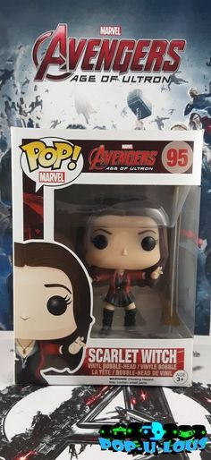 Scarlet Witch Avengers 2 Age of Ultron Funko POP Marvel Scarlet Witch Avengers, Marvel Avengers, Star Wars Timeline, Age Of Ultron, Funko Pop Marvel, Bobble Head, Toys, Shop, Activity Toys