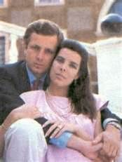 Princess Caroline with her second husband Stefano Casiraghi. They wed on 29 December 1983. They had 3 children together, Stefano died tragically in a powerboat accident on 3 Oct 1990