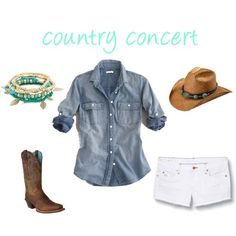 Sassy in Sequins: what to wear to a country concert