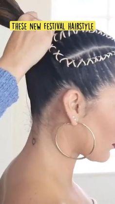 Undercut Hairstyles, Cute Hairstyles, Braided Hairstyles, Makeup Tips, Hair Makeup, Eye Makeup, Hair Cutting Techniques, Festival Hair, Braids For Long Hair