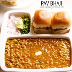 Pav Bhaji Recipe with video and step by step photos. Pav Bhaji is a popular street food from mumbai consisting of spiced smooth mashed mix vegetables, served with lightly toasted buttered bread. Vegetable Recipes, Vegetarian Recipes, Cooking Recipes, Vegetarian Dinners, Snacks Recipes, Vegan Meals, Recipes Dinner, Cocktail Recipes, Healthy Snacks